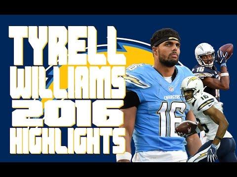 Tyrell Williams 2016 Highlights