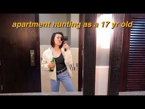 apartment hunting as a 17 yr old!