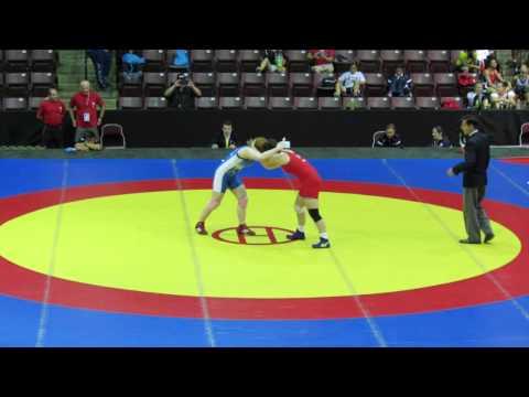 2014 Junior Pan-American Championships: 72 kg Mary Westman (USA) vs. Gracelynn Doogan (CAN)
