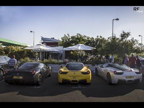 3 Ferrari 458 Italia/Speciale In Israel