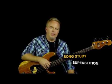 How To Play Superstition | Bass Guitar Lesson | Stevie Wonder