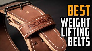 Best Weightlifting Belts For Squats - Best Cheap Weightlifting Belt For Health & Fitness