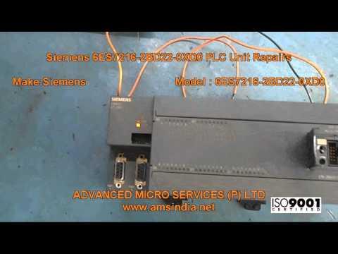 Siemens 6ES7216-2BD22-0XD0 PLC Unit Repairs @ Advanced Micro Services Pvt.Ltd,Bangalore,India