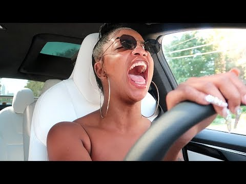 DE'ARRA FIRST TIME DRIVING ALONE   VLOGTOBER DAY 3