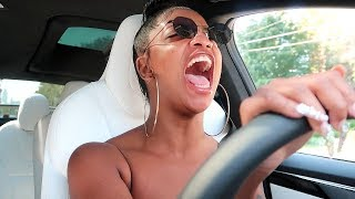 DE'ARRA FIRST TIME DRIVING ALONE | VLOGTOBER DAY 3