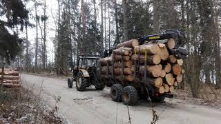 Zrywka drewna Ursus c360+Palms 8s 640