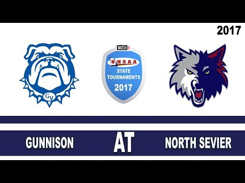 2A Football: Gunnison at North Sevier High School UHSAA 2017 State Tournament Round 1