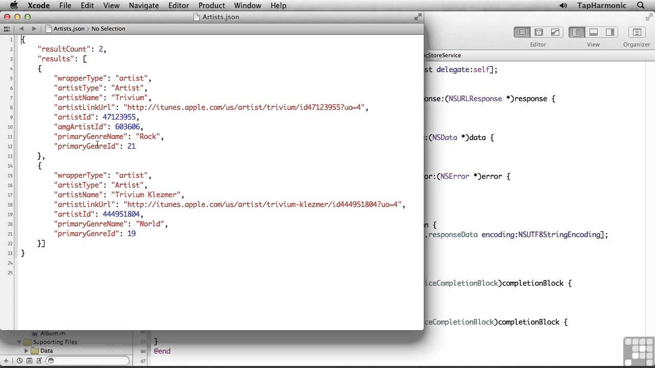 Ios/iphone php/mysql and json parsing (objective-c).