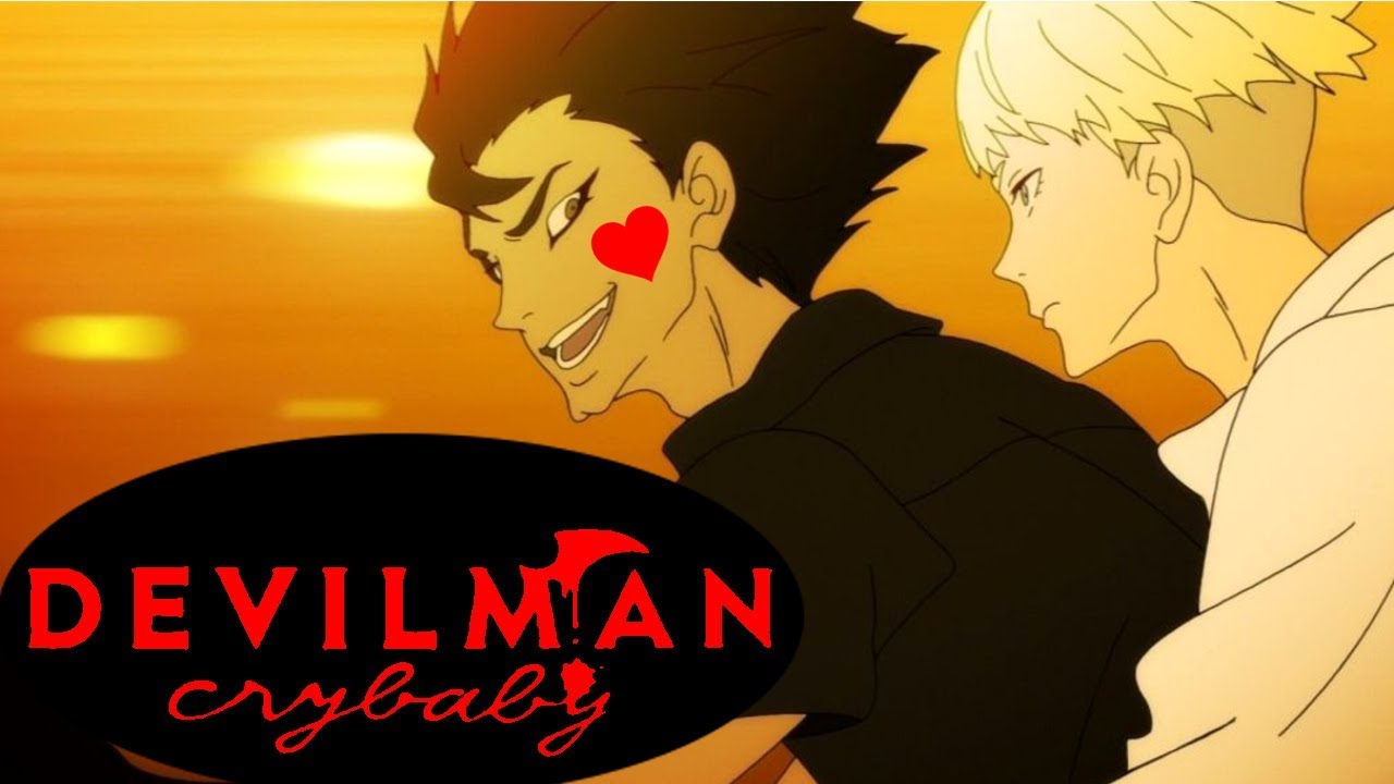 Wallpaper Boy Girl Sad Devilman Crybaby Is All About Love Baby Youtube