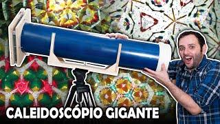 Fizemos um caleidoscópio gigante!!!
