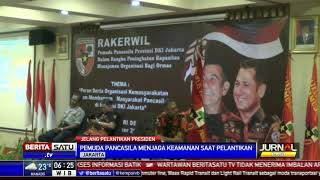 Ormas PP Siap Amankan Jakarta Jelang Pelantikan Presiden dan Wakil Presiden