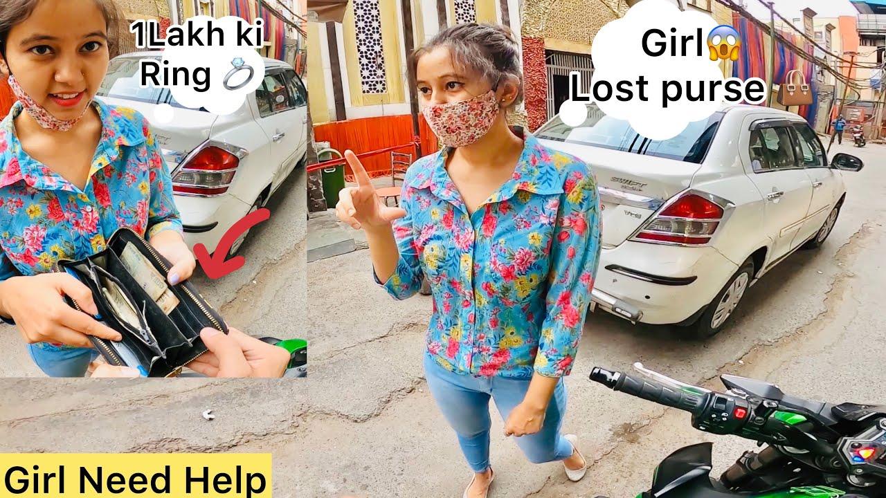 She Lost Her Purse😒 in Lockdown ||Girl Need Help|| Meri Mummy Hospital may hai😱