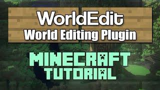 World Edit Minecraft Plugin Tutorial 1.13