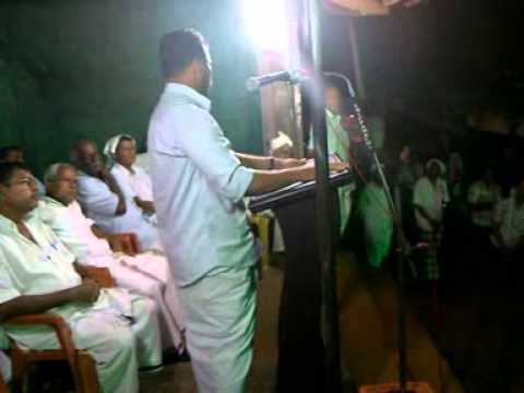 Muslim League Comedy speech, Malappuram, Kerala, India
