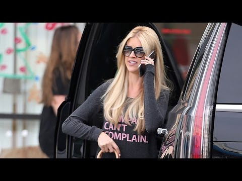 'Flip or Flop' Star Christina El Moussa Seen Out...