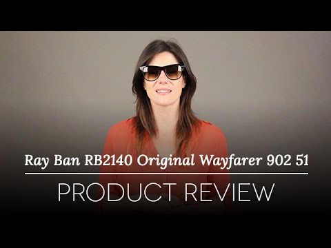 d54e734e08e Ray-Ban RB2140 Original Wayfarer 902 51 Sunglasses Review - YouTube
