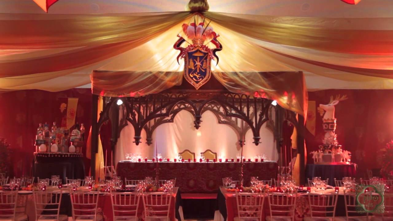 Game Of Thrones Themed Wedding Ambiance By Pido Youtube