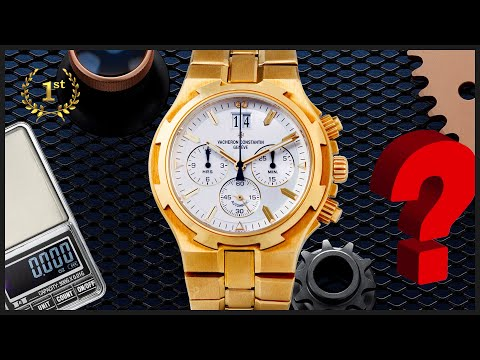 Сколько весят и стоят по весу золотые оригинальные часы Вашерон Константин