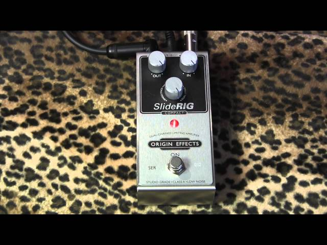 Origin Effects SLIDE RIG Compact compressor pedal