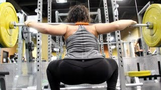 Booty Poppin' Squat Workout With MelDiva | Furious Pete