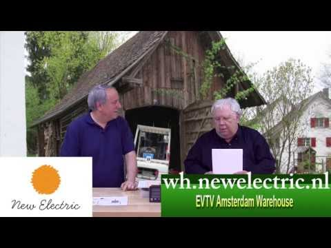 New Electric on EVTV friday show: presenting the Amsterdam Warehouse and our NedCraft conversion.