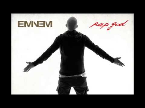 Eminem - RAP GOD Clean Radio Edit