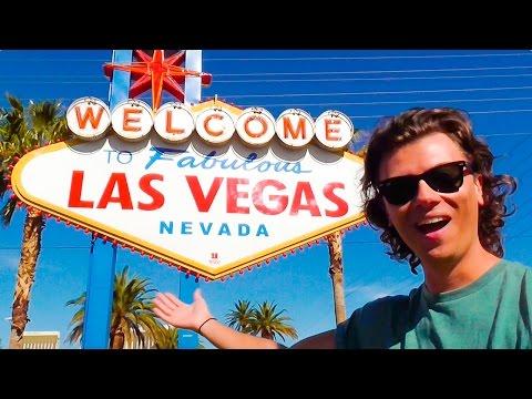 Exploring LAS VEGAS & The NEVADA Desert - Travelling In America   ANDY BRADLEY