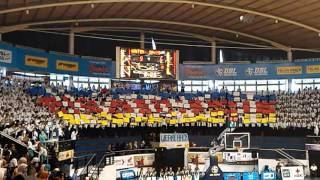 Smpn 6 Surabaya basketball supporter - DBL arena