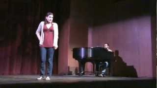 """""""Sing But Don't Tell"""" Baylor Theatre Sarah Smith"""