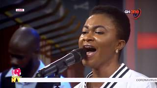 Efe Grace leads Ghana in Worship on National Prayer and Fasting Day