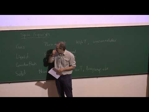 Introduction to Frustrated Magnetism I by  Prof  John Chalker