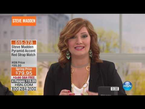 HSN | Steve Madden Watches Premier / Jo + Le Fashion Jewelry