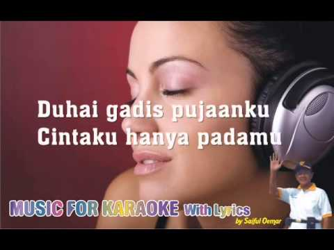 Gubahanku JAZZ Karaoke Piano Cover