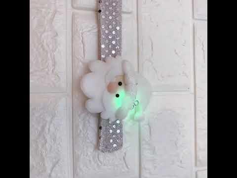 LED燈銀白拍拍圈-老人(228-5883-01)