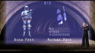 (Sega Dreamcast) Star Wars Demolition прохождение Gameplay боба фетт