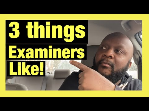 How To Pass The Road Test *** Impress DMV Examiners ***