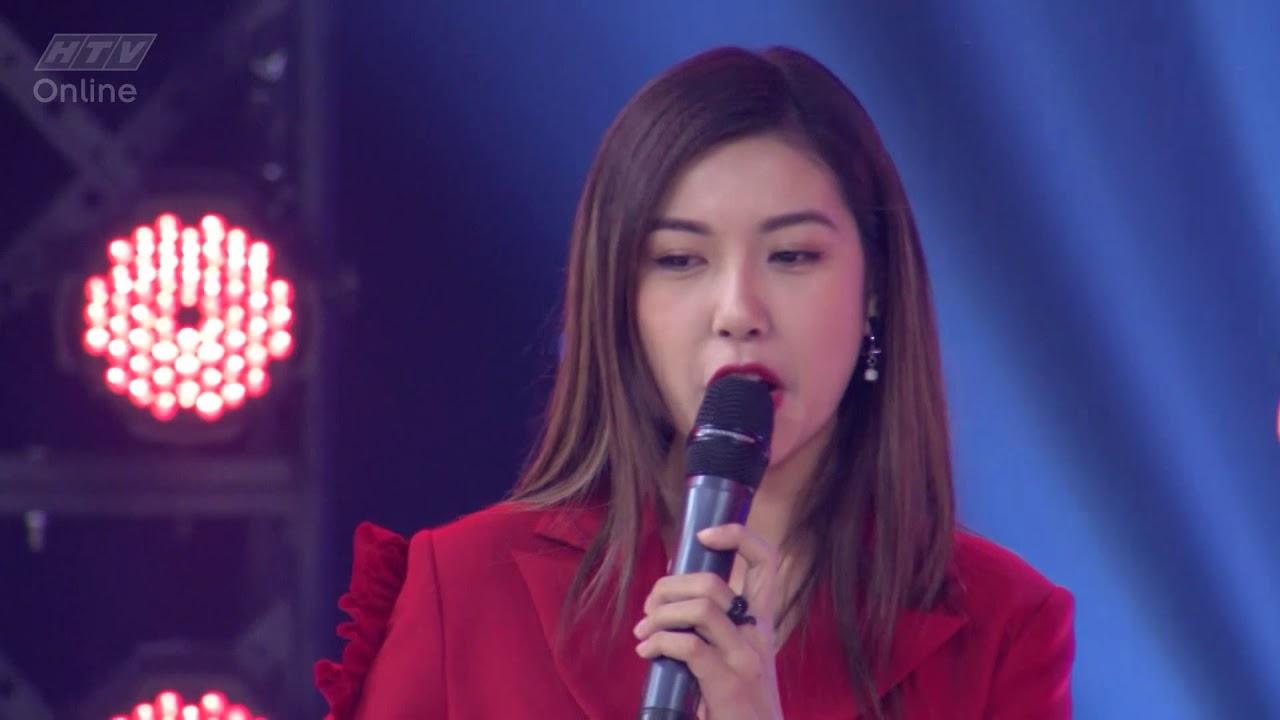 image Vân Trang làm giám khảo khách mời trong tập mở màn  HTV ĐẤU TRƯỜNG VÕ NHẠC