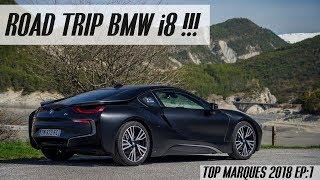 Direction Monaco en BMW i8 !! [Top Marques Monaco 2018 EP.1]