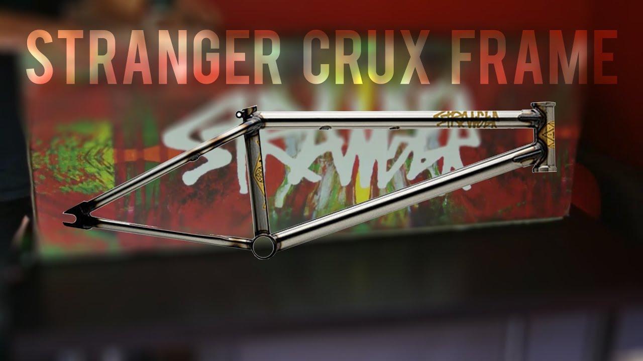 Stranger Crux Frame 20.5 Big SourceBMX Unboxing - YouTube