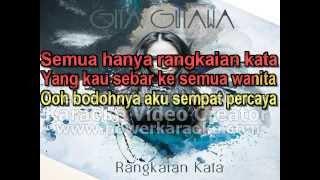 Gita Gutawa - Rangkaian Kata (Karaoke)