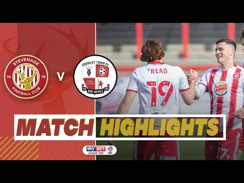 Stevenage Crawley Town Goals And Highlights