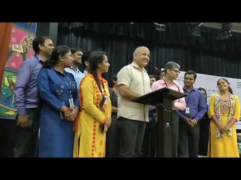 Speech: 100 Libraries  in Delhi Govt Schools: Edu Min Manish Sisodia
