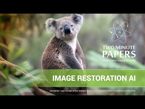 NVIDIA's Image Restoration AI: Almost Perfect - YouTube