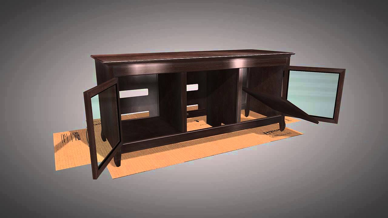 Tech craft tv stands - Techcraft Credenza 70 Tv Stand Xln62