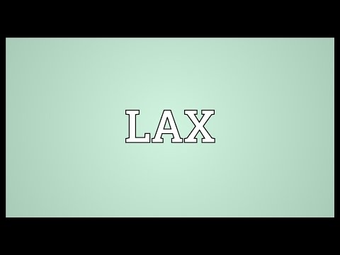 LAX Meaning