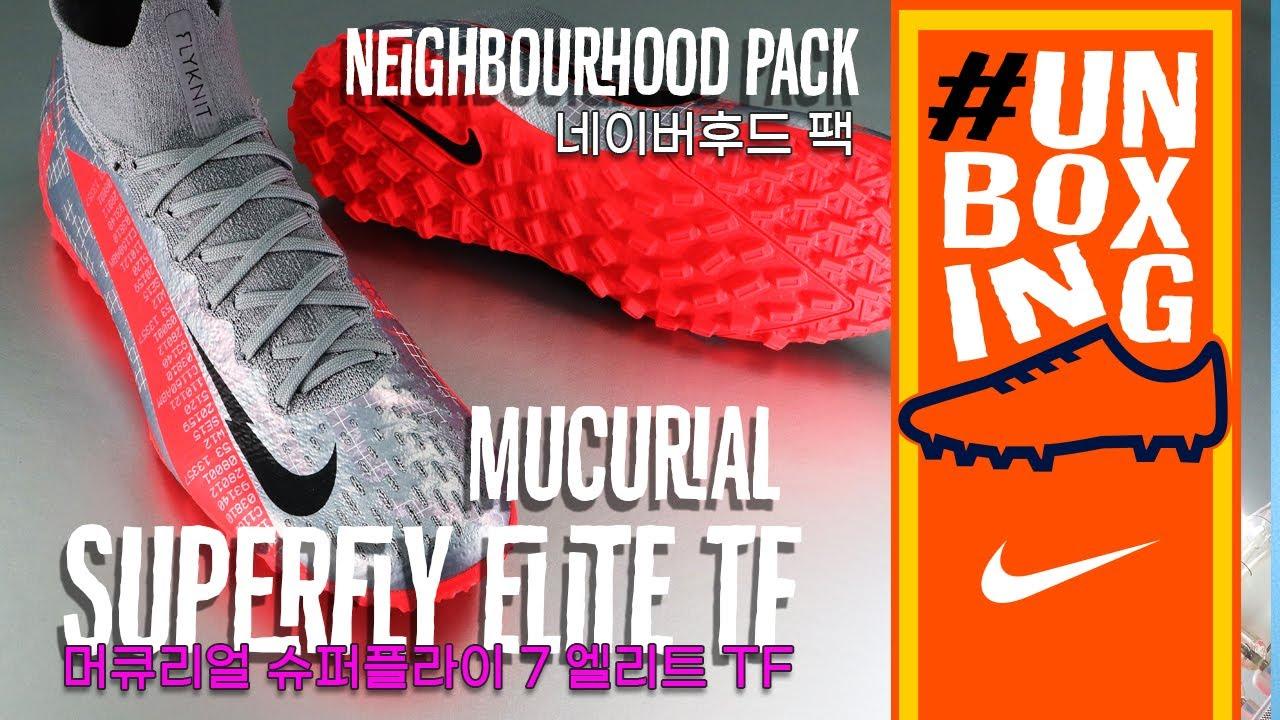 [CAPO FOOTBALL UNBOXING] Nike Mercurial Superfly 7 Elite TF Neighbourhood Pack