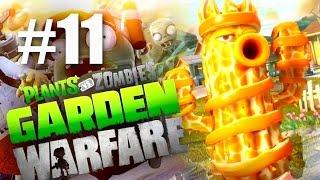 АПЕЛЬСИНКА! #11 Plants vs Zombies: Garden Warfare (HD) играем первыми