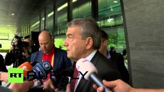 Switzerland: Russia and Qatar to remain World Cup hosts - German FA boss(Russia and Qatar will remain the host countries of the 2018 and 2022 FIFA world cups, president of the German Football Association Wolfgang Niersbach told ..., 2015-05-30T12:01:08.000Z)
