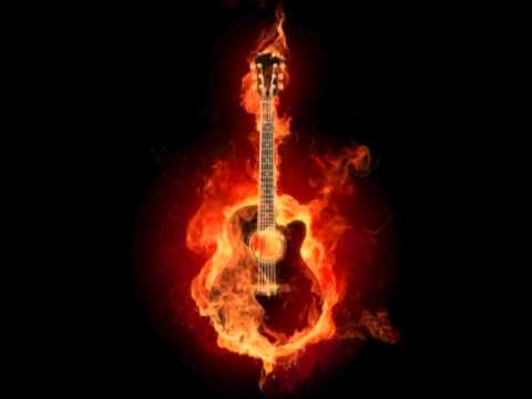 Alex Fox - Guitar on Fire
