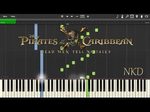Pirates of the Caribbean: Dead Men Tell No Tales Teaser Trailer *PIANO* w/ SHEET & MIDI
